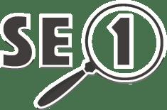 לוגו 1SEO לבן בחוץ